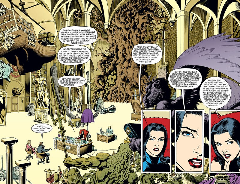 Fables The Kotaku Comic Review - The wolf among us road map