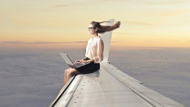 In-Flight Internet Access May Soon Suck a Little Bit Less