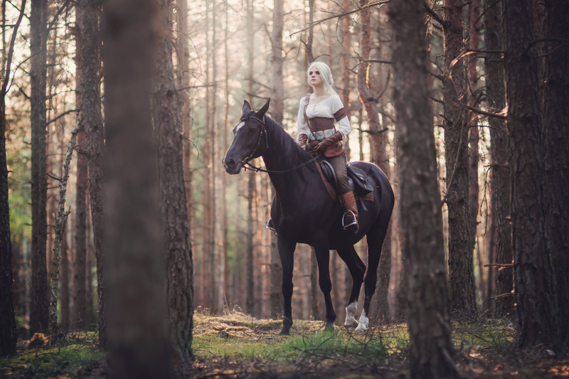 Illustration for article titled Ciri Rides Into The Real World