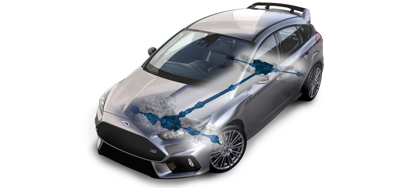 Illustration for article titled The Ford Focus RS' Kickass AWD System Will Show Up On Other Fords