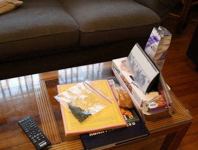 Apartment Kind Where Weed Just Left Out On Coffee Table