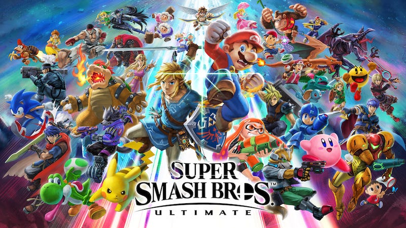 box Only Ultimate Special Edition Bundle Cooperative Super Smash Bros