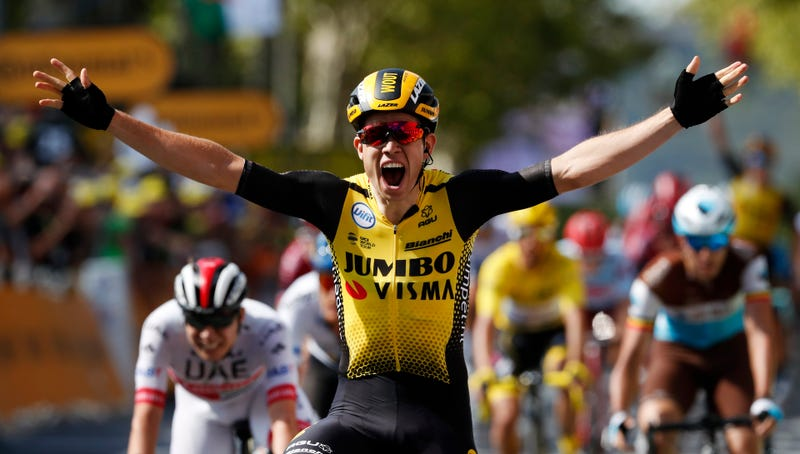 Illustration for article titled Wout van Aert Has Conquered The World And Now He's Conquering The Tour de France