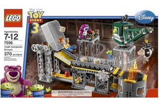 Illustration for article titled Toy Story 3 Lego Set May Be the Saddest Toy Ever