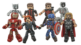 Illustration for article titled An Exclusive First Look At The Age Of Ultron Minimates!