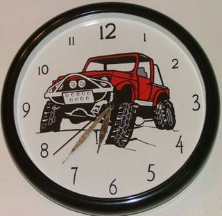 Illustration for article titled Off-Road Clocks Galore