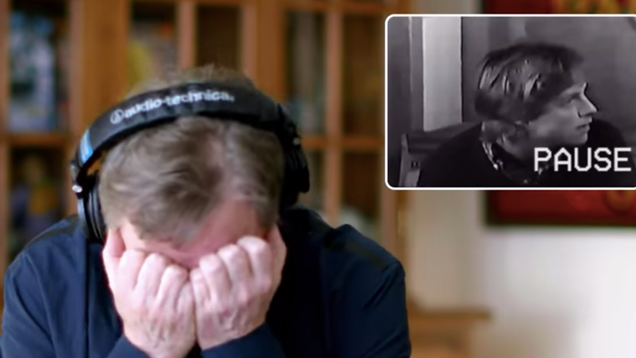 Watch Mark Hamill cringe at his original 1976 Star Wars audition tape