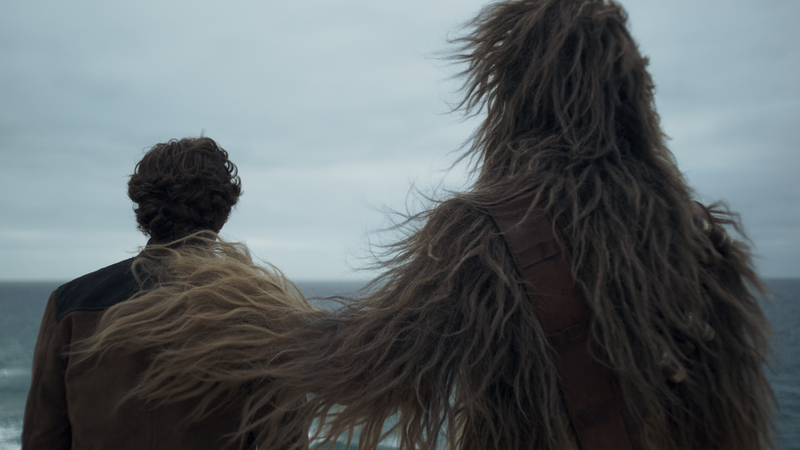 Chewie is the best dad.