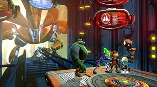 Illustration for article titled Ratchet & Clank's New Co-op Game Is Good (For Griefing)