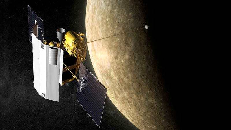 messenger spacecraft mercury discoveries - photo #13