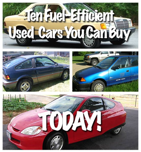 Ten Fuel-Efficient Used Cars You Can Buy Today