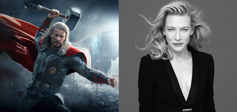 Illustration for article titled Cate Blanchett interpretará a la villana en Thor: Ragnarok, según Mark Ruffalo