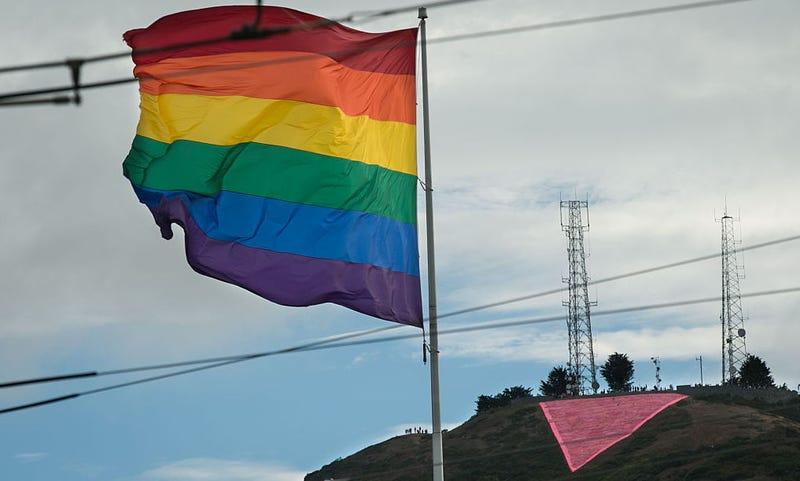 Símbolos de la lucha por los derechos de los homosexuales. Getty