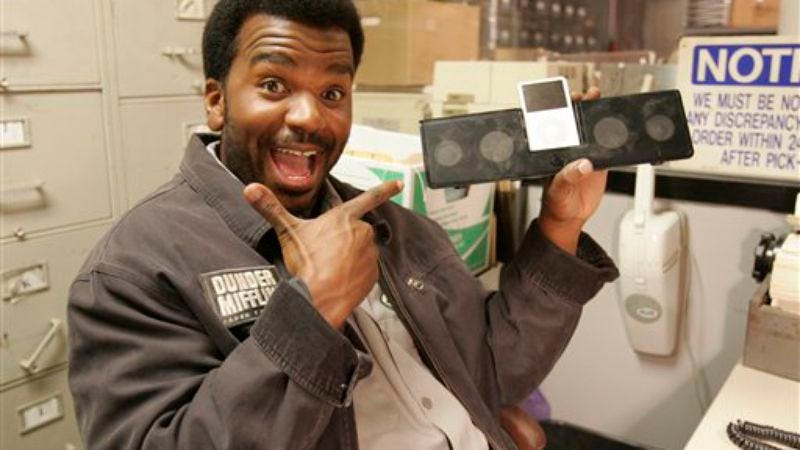 Illustration for article titled Craig Robinson gets his own NBC show from The Office's Greg Daniels