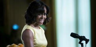 First lady Michelle Obama (Brendan Swialowski/AFP/Getty Images)