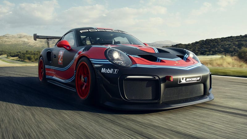 Illustration for article titled The Porsche 911 GT2 RS Clubsport Will be Your New 700-HP Track Car for a Mere$478,000