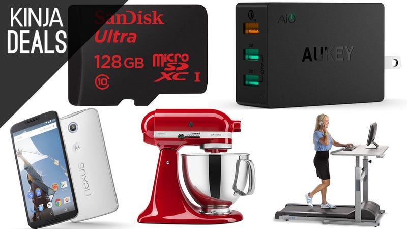 Illustration for article titled Today's Best Deals: KitchenAid, Cheap eBooks, Charging Gear, & More