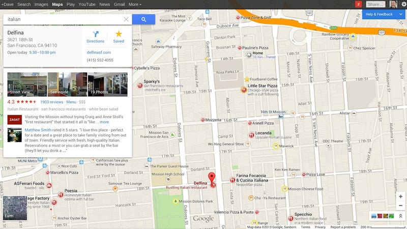 Illustration for article titled Google Maps Gets a Completely New Look and Better Location Discovery
