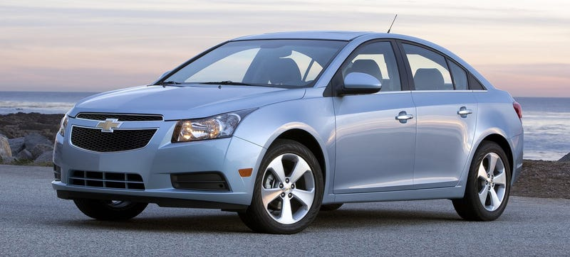 Illustration for article titled GM Halts Sales Of Chevrolet Cruze Models, Does Not Say Why