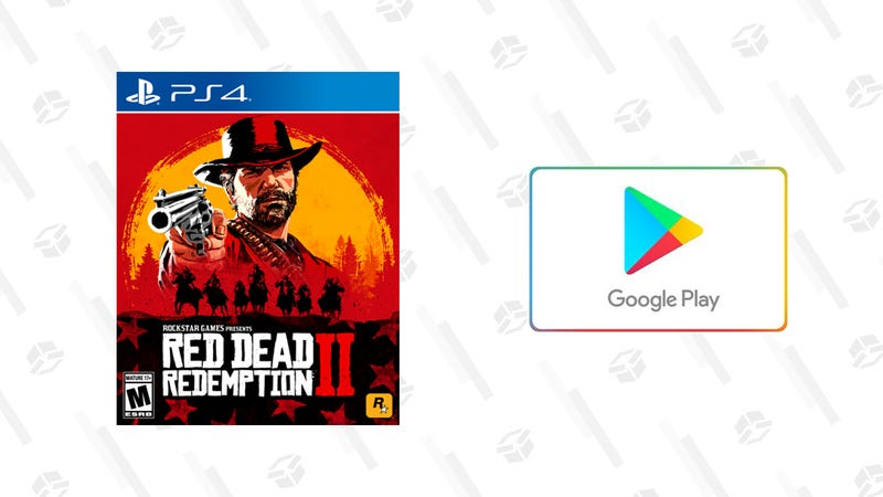 Red Dead Redemption 2 + $10 Google Play eGift Card | $60 | Walmart