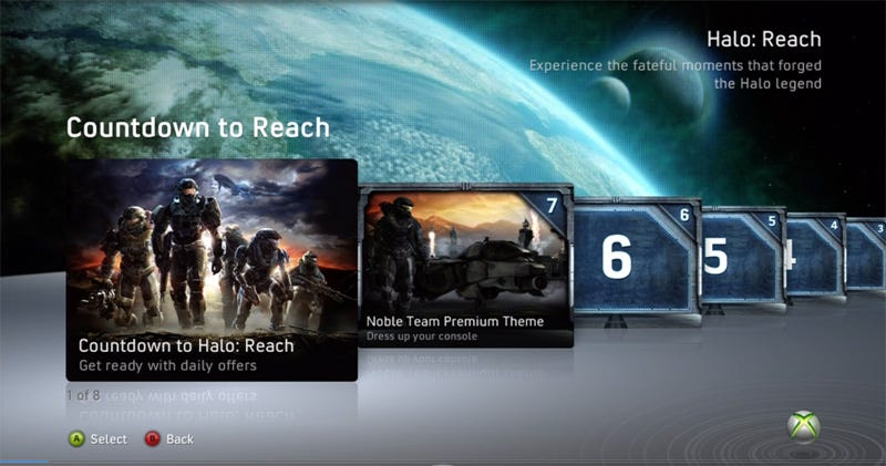 Illustration for article titled The Countdown To Halo: Reach Invasion Week Begins