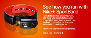 Illustration for article titled Nike+ SportBand Coming Next Week