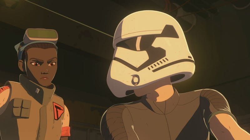 Kaz dressing as a Stormtrooper was the real focus of Resistance this week.
