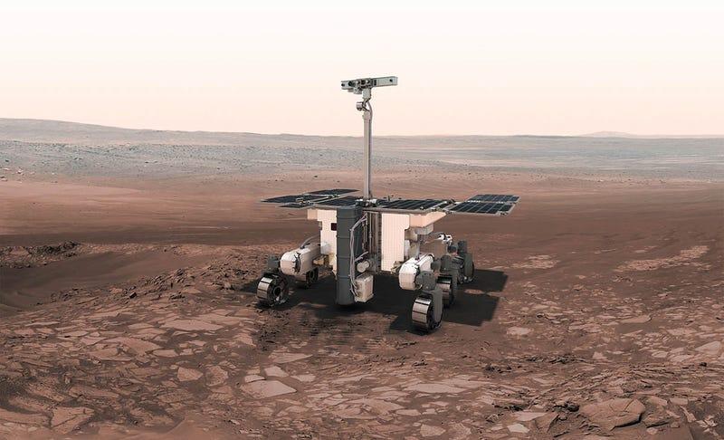 Illustration for article titled Marsipan o Bruno Mars Rover: si se te ocurre un nombre mejor para este rover de Marte esta es tu oportunidad