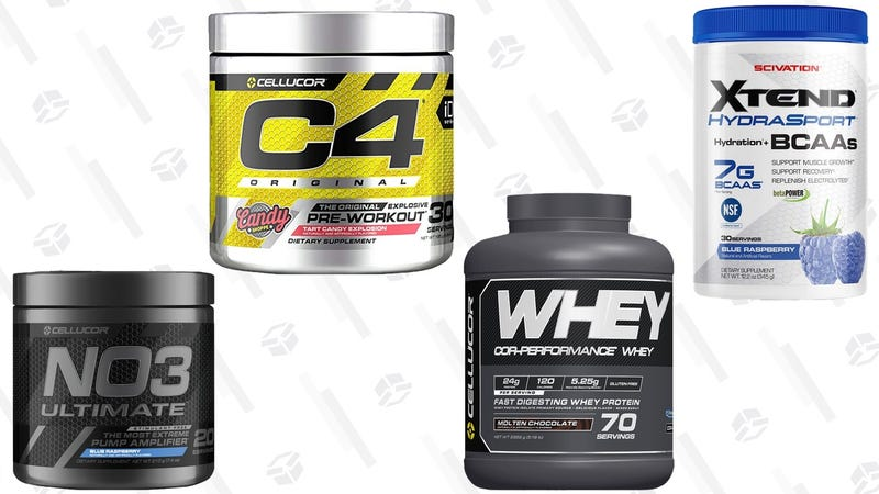 Cellucor and Scivation Supplmeent Gold Box | Amazon