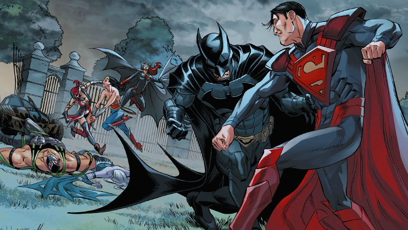 dc comics injustice is the best evil superman story of