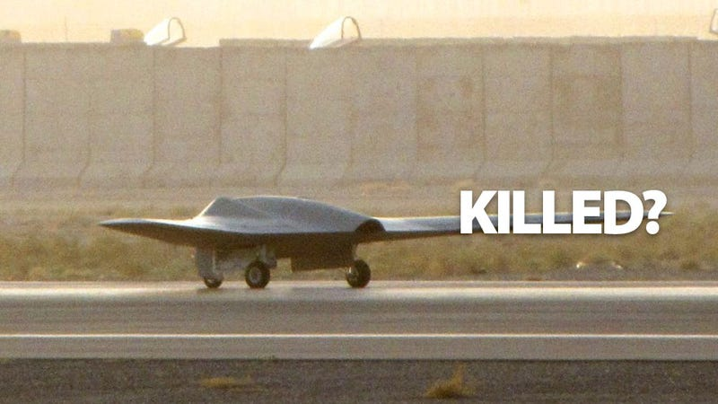 Illustration for article titled NATO Confirms Spy Drone Loss