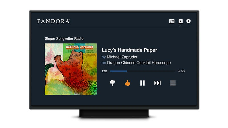 Illustration for article titled Pandora Ditches PS3 and Xbox 360 Apps For a Special HTML5 TV Interface