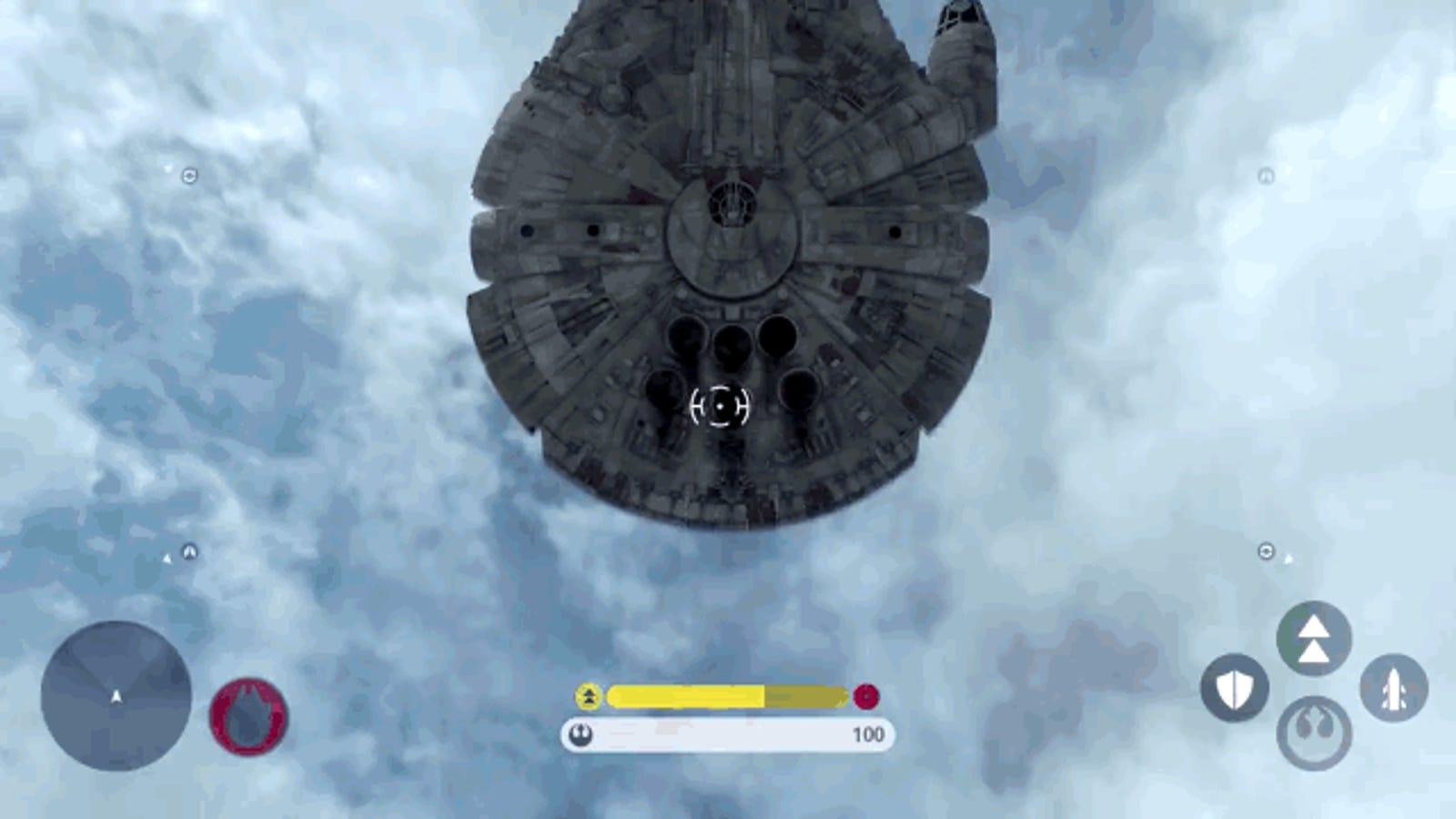 Las batallas aéreas de Star Wars Battlefront son un sueño hecho realidad