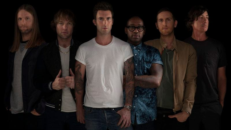 Illustration for article titled Maroon 5 crib more pop moves on album number five