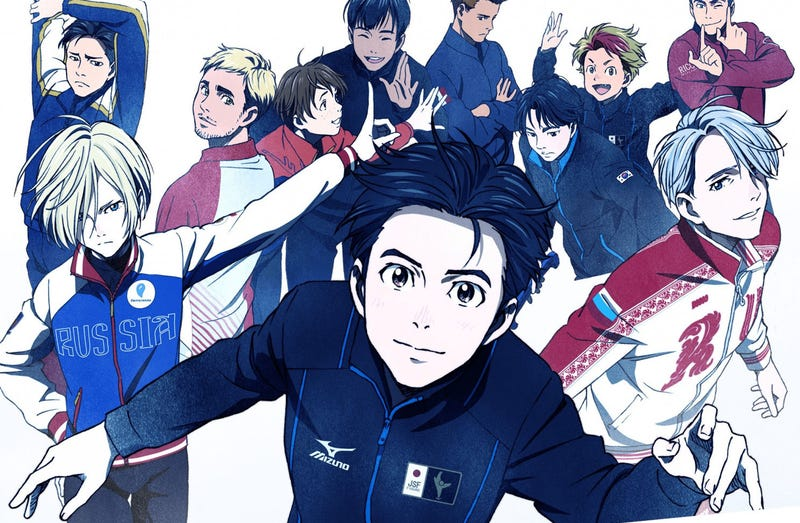 Illustration for article titled Japanese Skaters Performed Yuri On Ice At The Winter Olympics