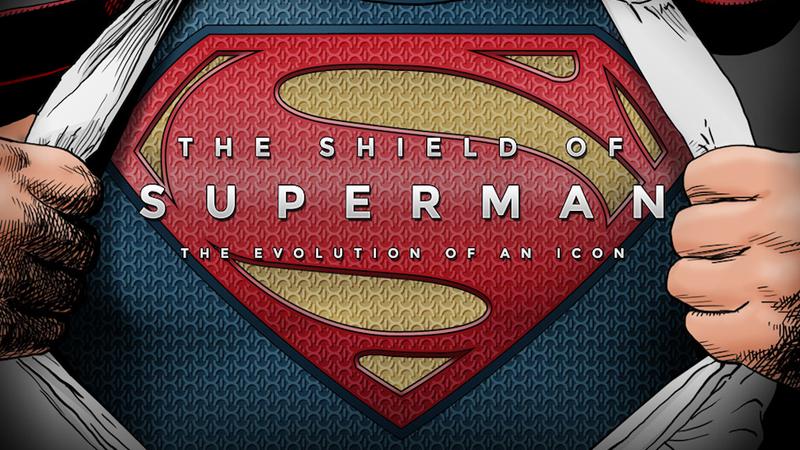 """Illustration for article titled La evolución de las """"S"""" de Superman, en una infografía"""
