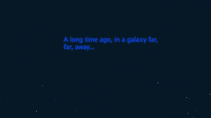 Watch Star Wars: A New Hope by Simply Scrolling Through a Website
