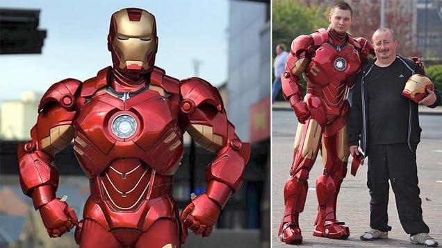 Los trajes caseros de Iron Man más parecidos al de verdad