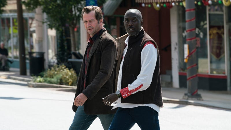 Illustration for article titled The new season of Hap And Leonard is a stand-alone mystery with humor, charm—and the KKK