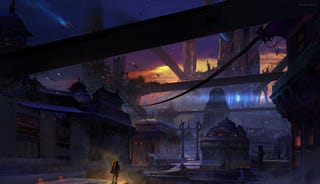 Illustration for article titled Dune and the fantastic science fiction cities of Finnian MacManus