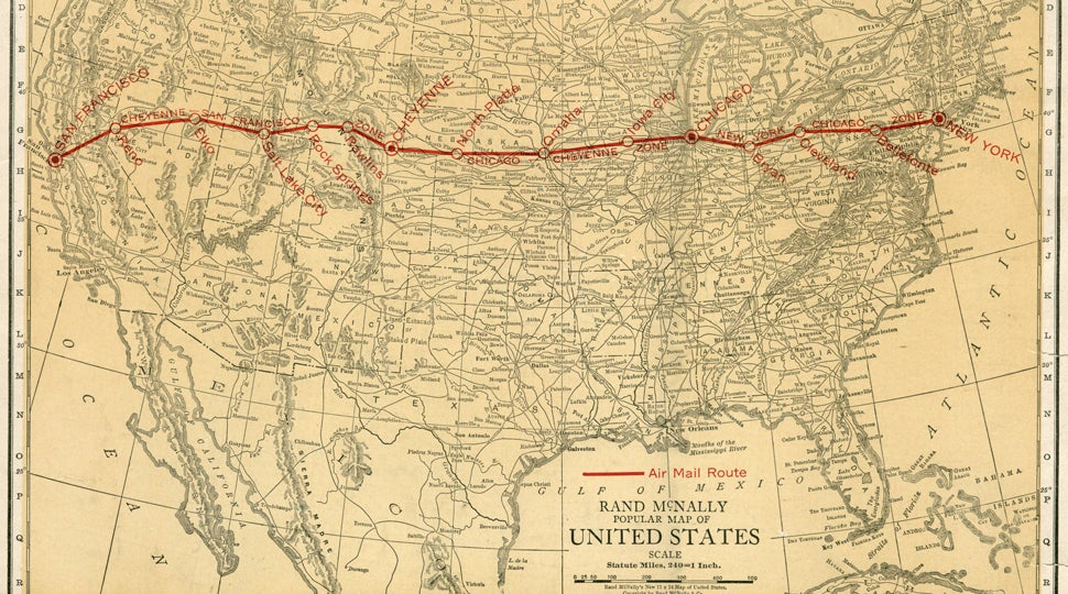 The Highway of Light That Guided Early Planes Across America