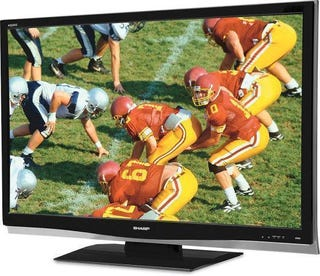 "Illustration for article titled Dealzmodo: 2 Sharp 46"" AQUOS HDTVs for $1999"