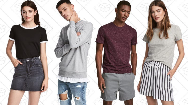 Up to 40% off select basics
