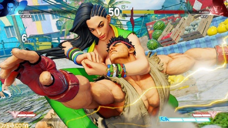 Illustration for article titled Looks Like This Is a Brand New Street Fighter V Character