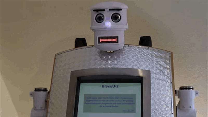 Let Germany's Robopriest Offer You Guidance and Protection