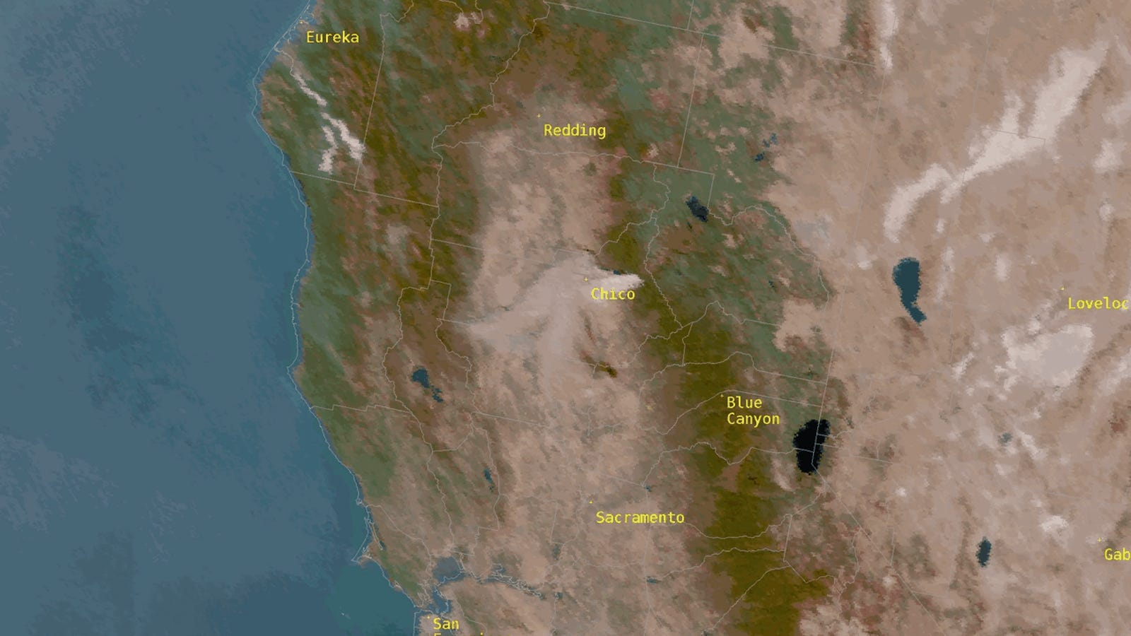 Explosive Northern California Is Consuming 80 Acres of Land a Minute