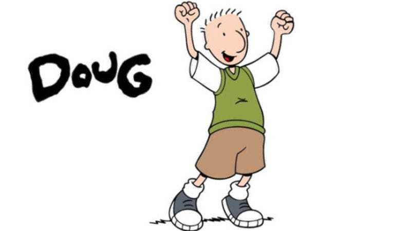 Illustration for article titled A rapping Doug Funnie channels Ice Cube, lives to see another day in Bluffington