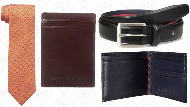 bc74413318e9a For one day only, Amazon s offering huge markdowns on a variety of wallets,  ties, and belts, and suspenders from Tommy Hilfiger to help you pull your  outfit ...