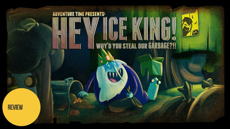 Illustration for article titled Adventure Time: Hey Ice King! Why'd You Steal Our Garbage?!: The Kotaku Review