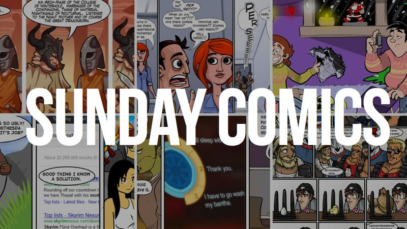 Illustration for article titled Sunday Comics: Friendship is Modding